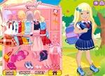Barbie Games :: Amanda Goes to School