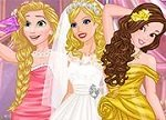 Barbie and Princesses Wedding Selfie