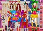 Barbie Games :: Barbie Halloween Princess