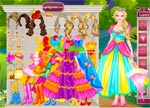 Barbie Castle Dress Up