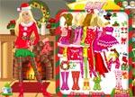 Barbie Games :: Christmas Doll