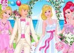 Barbie Games :: Princesses at Barbie's Wedding