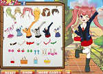 Anime School Uniforms Dress Up Games