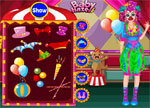 Clown Dress Up Games