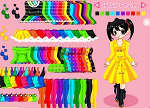 Colorful Wardrobe Dress Up Games