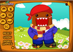 Dress Up Games :: Domo Kun