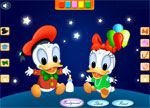 Donald and Daisy Dress Up Games