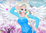 Elsa in Anime World Dress Up Games