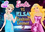 Elsa vs Barbie 2 Dress Up Games