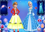 Frozen Girls Dressup