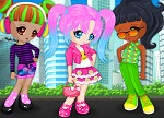 Gamellina & Friends Dress Up Games