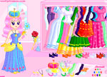 Glitter Princess Dress Up Games