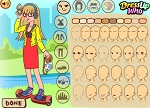 Hipster Girl Summer Dress Up Games