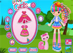 Jewel Sparkles Dress Up Games