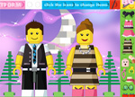 Lego People Dress Up Games