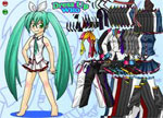 Miku Hatsune 2 Dress Up Games