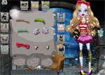 Monster High Doll Dress Up Game