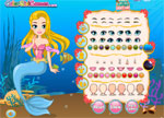 Moonlight Mermaid Dress Up Games