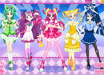 Pretty Cure Dress Up Games