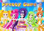 Pretty Cure 2 Dress Up Games