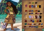 Dress Up Games ::  Dress Up Princess Moana