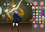 Dress Up Retro Ballerina - Dress Up Games