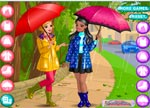 Dress Up Games :: Retro Rain