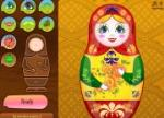 Russian Doll Dress Up Games