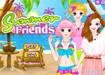 Dress Up Games :: Summer Friends