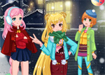 Winter Friends Dress Up Games
