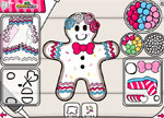 Decorating Games :: Gingerbread Designer