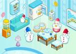 Snowman Family House