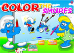 Coloring Games - Color The Smurfs