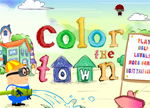 Coloring Games - Color the Town