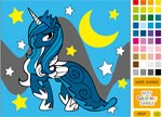 Princess Luna Coloring