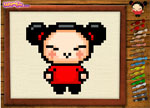 Coloring Games - Pucca Embroidery