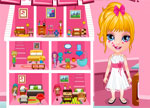 Decorating Games :: Baby Barbie House