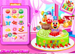 Decorating Games :: Birthday Cake