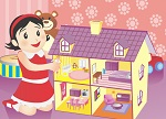 Decorating Games :: Dollhouse Builder