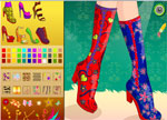 Decorating Games :: Fashion Shoes Design
