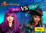 Descendants 2 Mal vs Uma