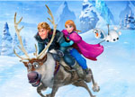 Anna and Kristoff Jigsaw