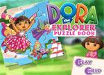 Dora Puzzle Book