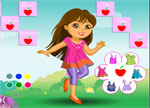 Grown Up Dora Dress Up Games