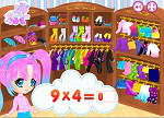 Dress Up Games :: Gamellina Fashion Multiplication