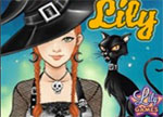 Halloween Lily Dress Up Games