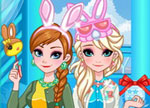 Easter Games - Frozen Sisters Easter Fun