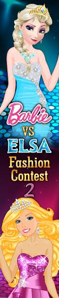 Dress up Games :: Elsa vs Barbie 2 Dress up Games
