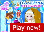 Frozen Ice Cream Shop