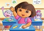 Dora First Day at School